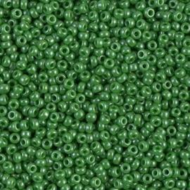 Miyuki rocailles 11/0 0431 Green Opaque Luster (10 gram)