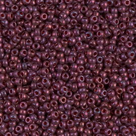 Miyuki rocailles 11/0 0313 Cranberry Gold Luster (10 gram)