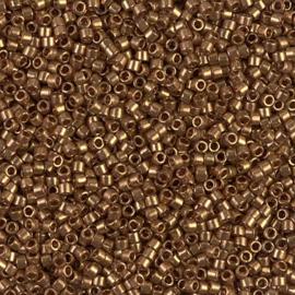 Miyuki delica 11/0 DB0115 Gold Luster Dark Topaz ( 5 gram)