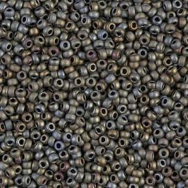 Miyuki rocailles 11/0 2012 Tawny Gray Metallic Matte (10 gram)