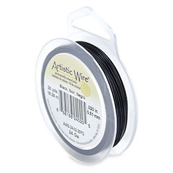 Artistic Wire 24 gauge Black (20 yard)