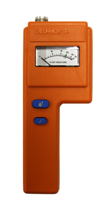 Delmhorst F-6 (6-30) Analoge vochtmeter voor hooi en stro