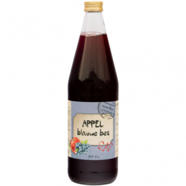 Appel blauwebessensap