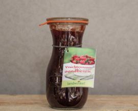 Vruchtensaus aardbeien