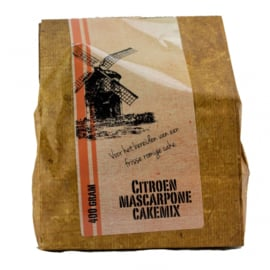 Citroen mascarpone cake mix