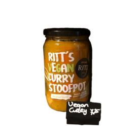 Vegan curry stoofpot