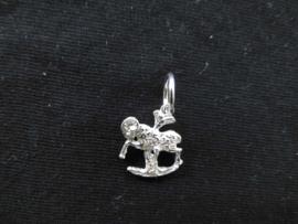 Zilveren sterrenbeeld ram hanger.