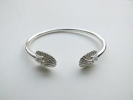 Zilveren indiaan boei armband.