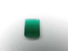 Losse groene steen met lichtstreep effect (rechthoek)