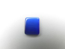 Losse blauwe steen met lichtstreep effect (rechthoek)