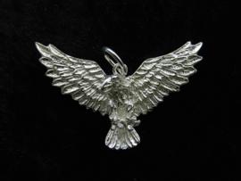 Zilveren adelaar hanger.