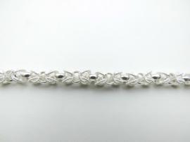 Zilveren keizer bracelet.