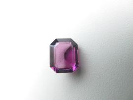Losse paarse steen (achthoek)
