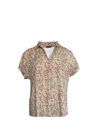Shirt Anzanzo | Print Taupe