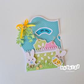 Hobbizz Kit Verrassingswiel Easter Bunnies