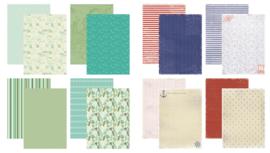 Kit Designpapier Seashore + Ten Miles
