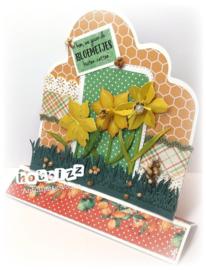 Kit mallen Narcis + Grasrand