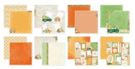 6011/0660 SCR@P Designpapier Crunchy Leaves