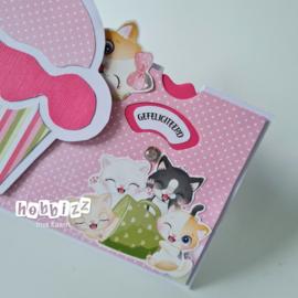 6410/0531 Noor! Clear stamp surprisewheel