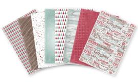 6011/0610 Noor! Designpapier Jingle Bells