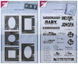 Kit Stempels Frames + Baby