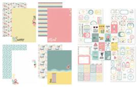 Kit Designpapier + Labelvellen To the Beach