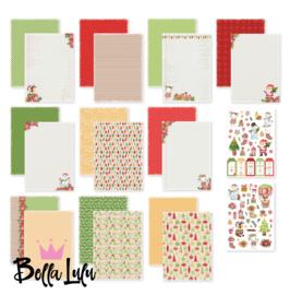 3004/0010 Bella Lulu Designpapier Kerstfeest 2.0