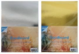 8011/0103 + 8011/0104 Joy Spiegelkarton  A4 10 goud & zilver