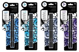SET 6  - Triblend Markers Blauw