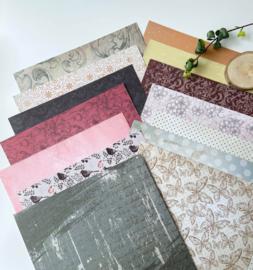 Kit Designpapier Botanical