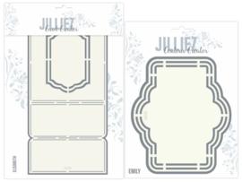 Jilliez Card Creator mallen 2 st.