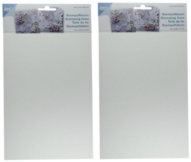 6410/0101 Stempellinnen wit A4 - 2 x 10 vel