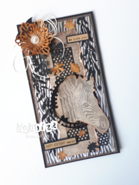 Kit Designpapier Out of Africa + Life is a Journey