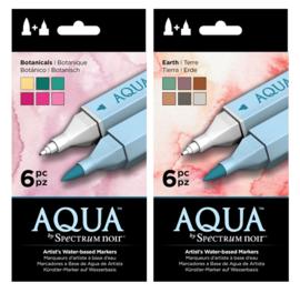SET 1 - Spectrum Noir Aqua Markers Botanicals + Earth