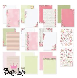 3004/0005 Bella Lulu Designpapier Lentekriebels
