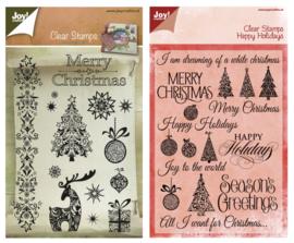 Kit Stempels Merry Christmas