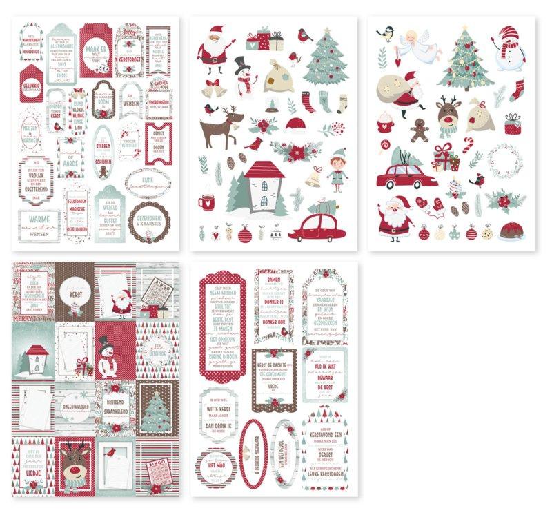 6011/0429 Noor! Labelvellen Jingle Bells