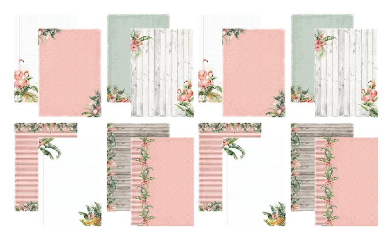 1002/0502 Hobbizz Designpapier Botanical Garden (2 sets)