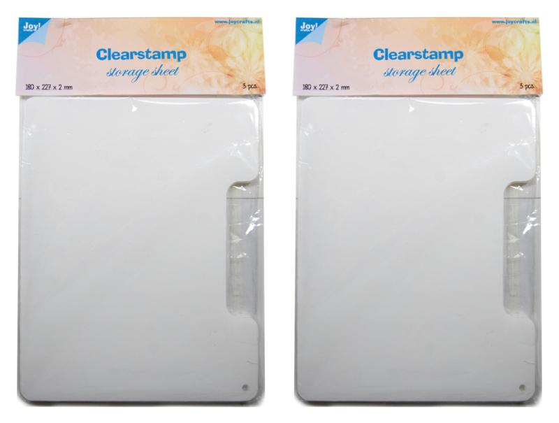 6200/0069 Vellen voor clear stamps 6 st.