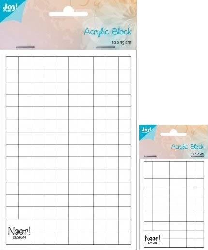 6200/0231 + 0232 Acrylblokken voor stempels