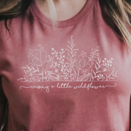 Little Wildflower twinning T-shirt Set