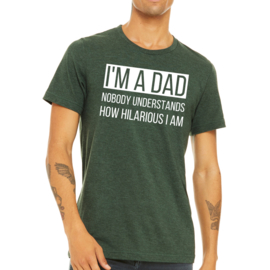 T-shirt Heren I'm a dad