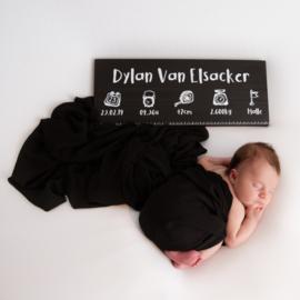 geboortemeter blackwash