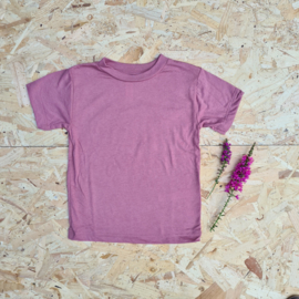 T-shirt kids mauve