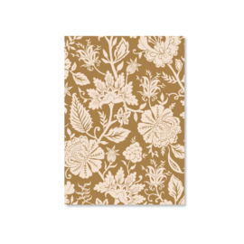 Kaart A6 - Carved Flowery (gold)