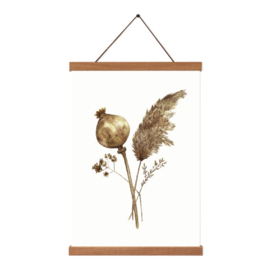 Poster - Dried Flowers