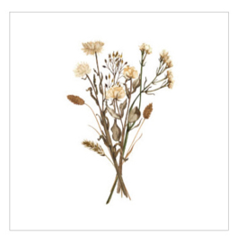 Cadeaukaartje - Dried Roses