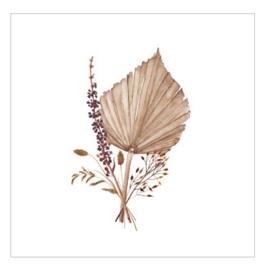 Cadeaukaartje - Palmblad