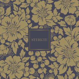 Wenskaart - Styled flower 'sterkte'