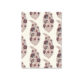 Kaart A6 - Floral Paisley (morning)